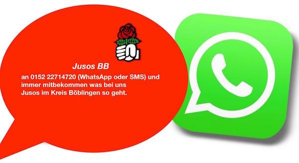 whatsapp oder sms